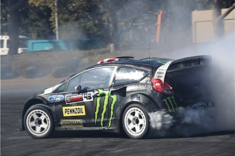 Watch As Ken Block Kills All Tires During Tokyo Photo Shoot