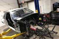 Racecar Rebirth: Section 8 Mustang Repaired After OSCR V Crash