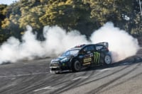 Video: Ken Block Smokes Tires At The Tokyo Auto Salon