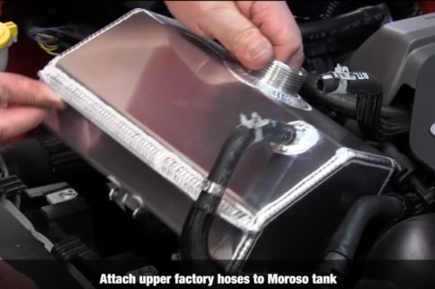 Ditch That Plastic S550 Coolant Bubble In Favor Of A Metal Tank