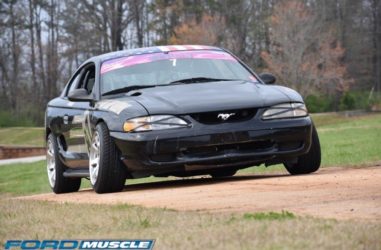 Building A Tire-Killing Drift 'Stang Doesn't Have To Break The Bank
