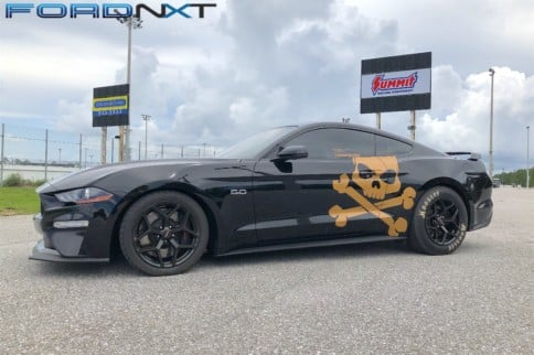 Corn-Fed, Whipple-Blown, Bolt-On 2018 Mustang Runs Nines