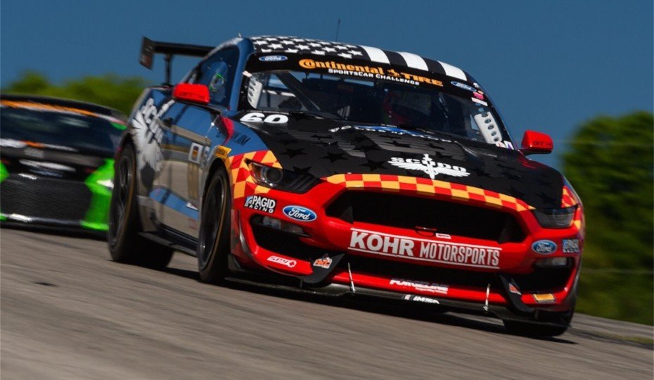 IMSA Mustang GT4s Win In Canada To Lead Points At Season Midpoint