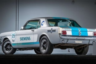 Self-Driving 1965 Mustang Attempts Goodwood Hillclimb
