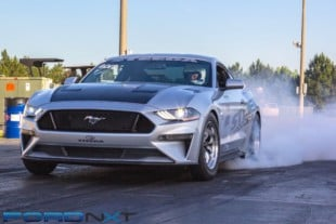 10-Second 2018 Mustang Keeps Running Quicker Without A Power Adder
