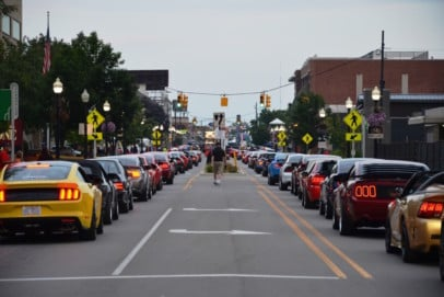 Mustang Alley Marks Its 20th Year At The Woodward Dream Cruise