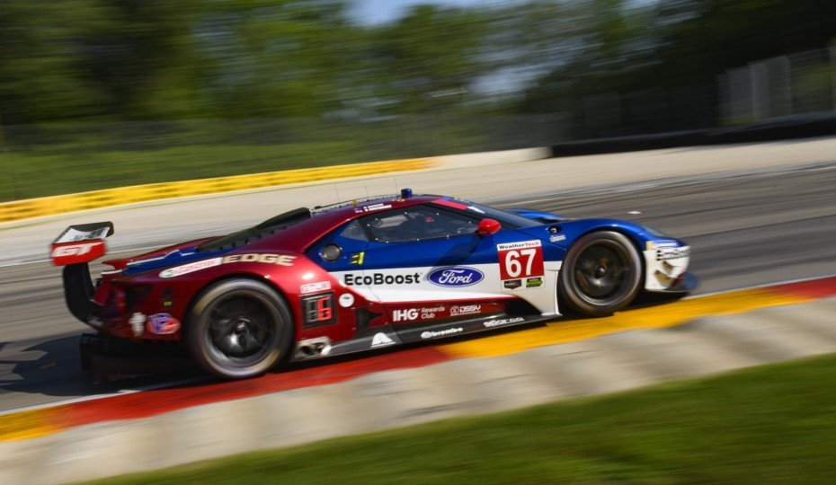 Ford GT Reels In Its Fourth IMSA Victory In A Row At Road America