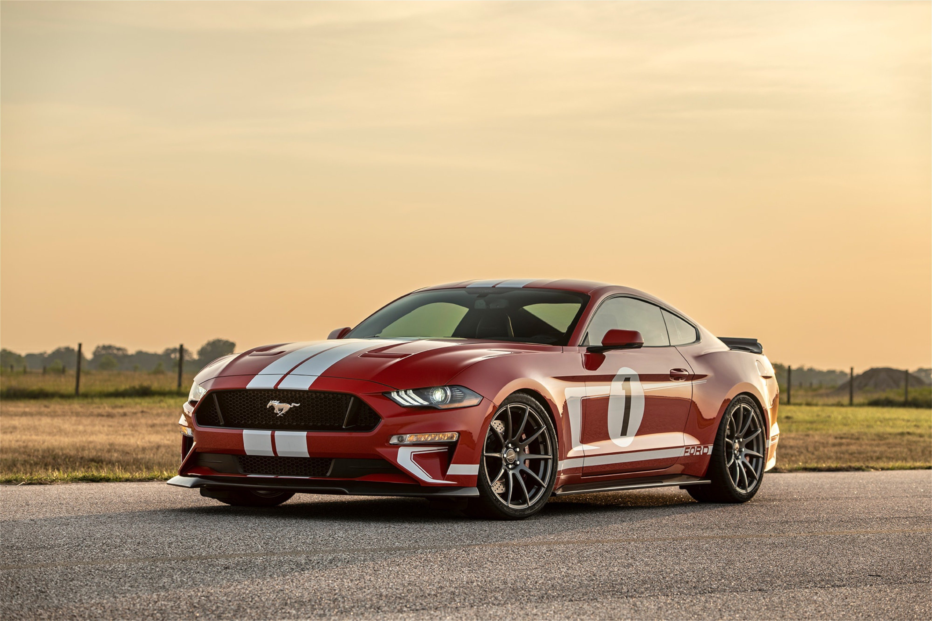 Hennessy Performance Is Set To Create A Limited Run Of Heritage Edition  Mustangs That Deliver  Horsepower Courtesy Of A   Liter Whipple Gen