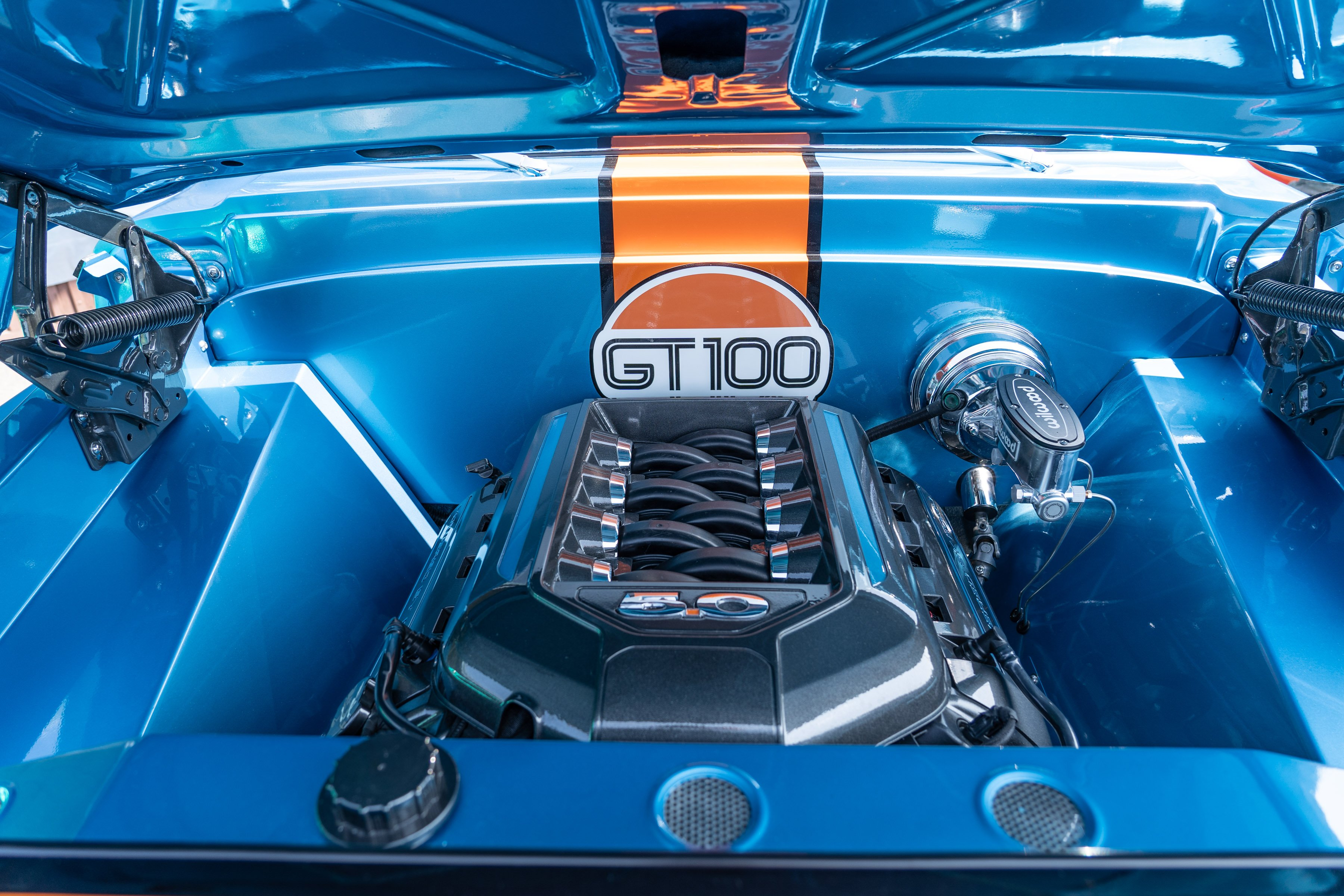 This Coyote-Powered '68 F100 Is A Tribute To The GT40 Supercar