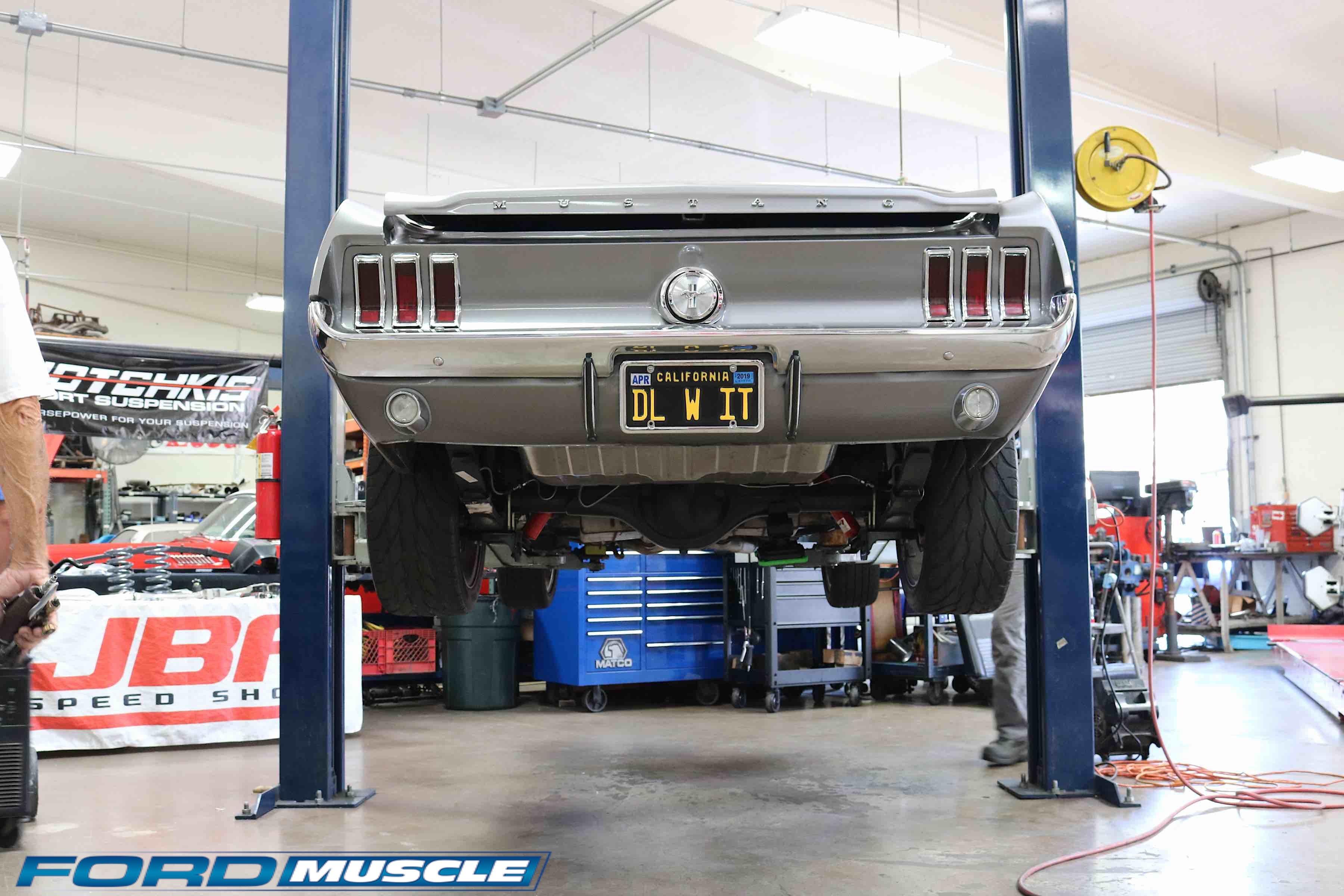 Suspension Upgrade Transforms A Classic Mustang Into A Corner Carver