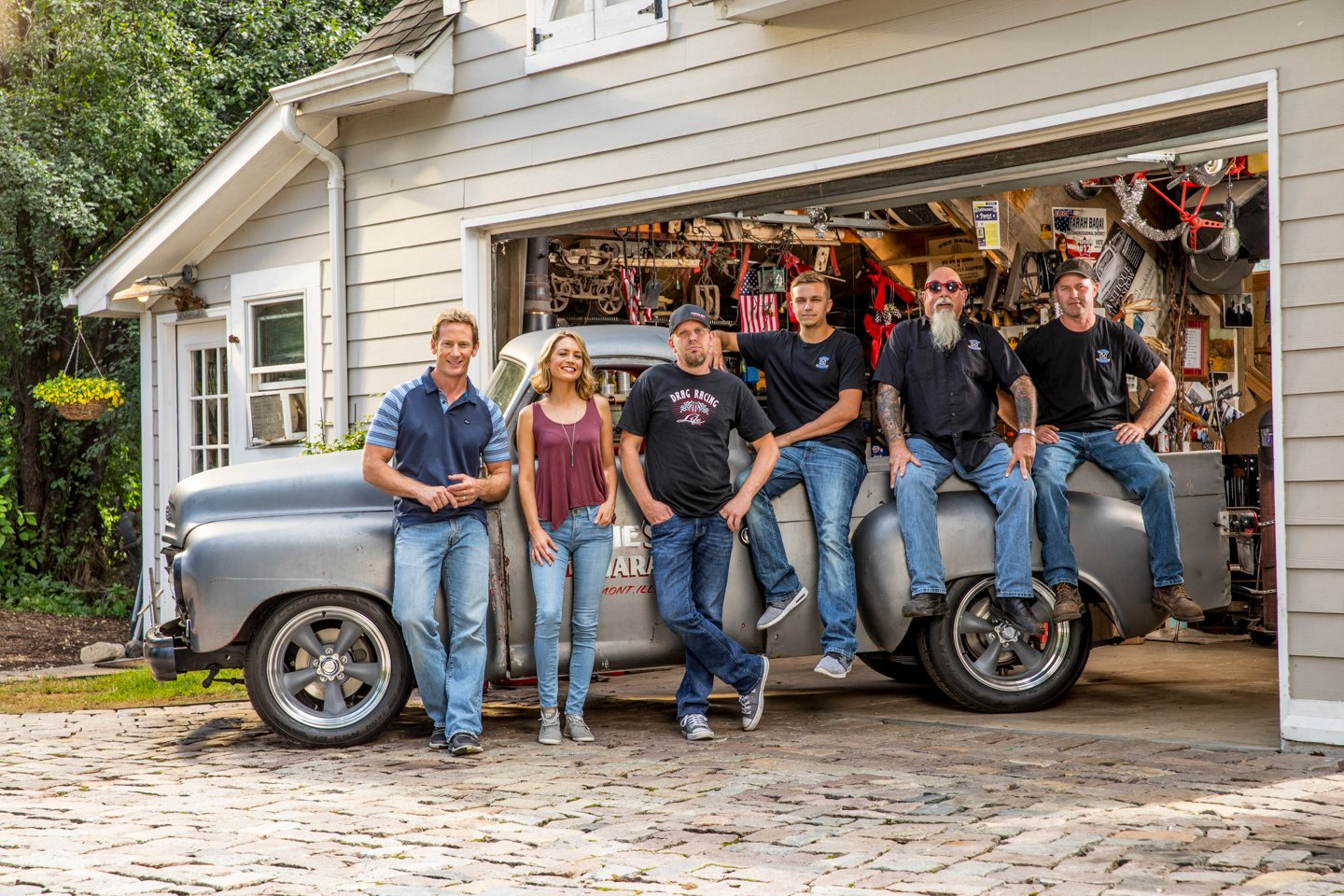 How garage squad rescued an entire genre of television for Garage ford paris 11