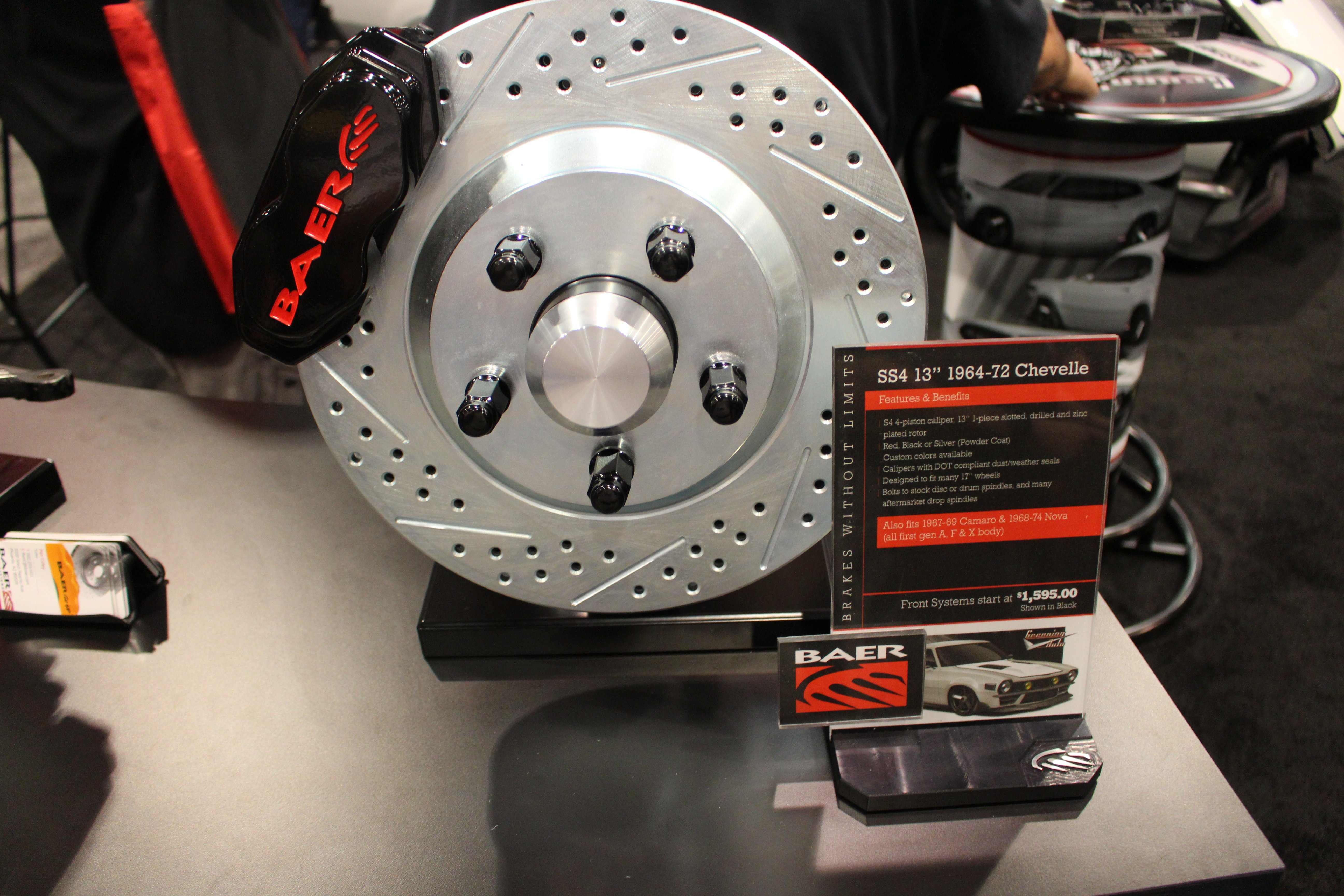 SEMA 2018: Whoa Nelly! We Pay A Visit To Baer Brakes