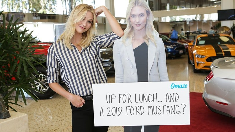 Win A Lunch Date With A Supermodel & Drive Away In A 2019 Mustang