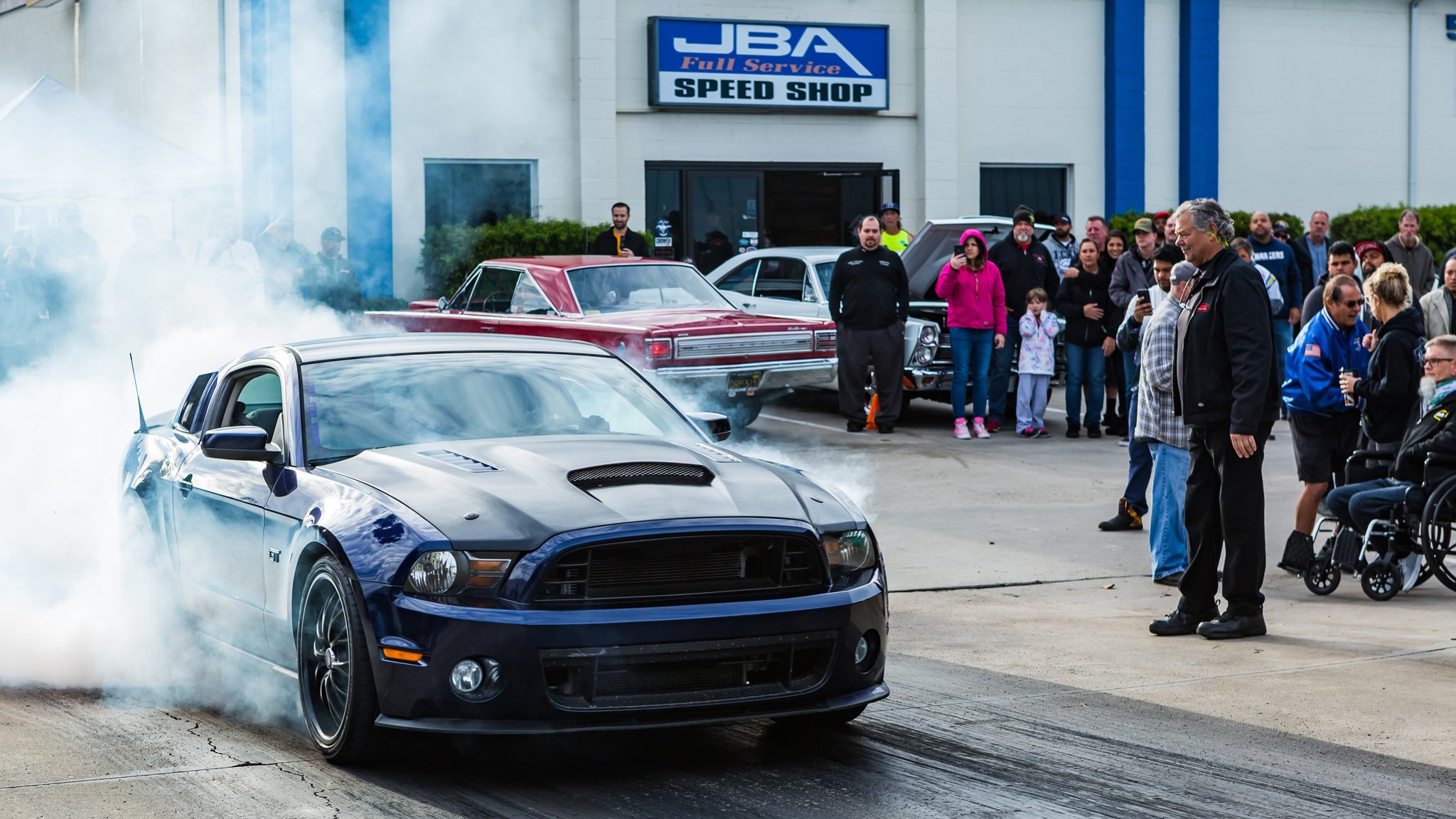 JBA Speed Shop Celebrates 100th Coffee and Cars In SoCal