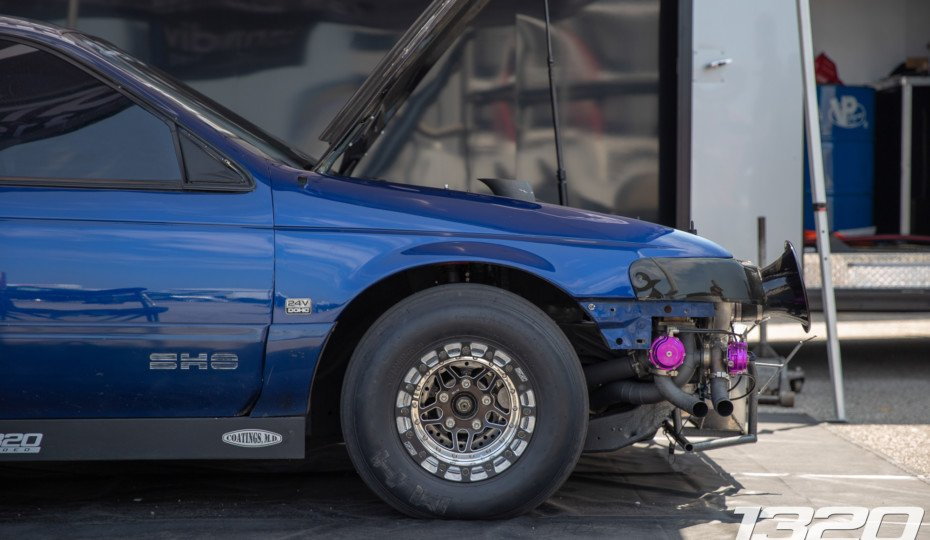 Blue Turd: Zach Wright's One-Of-A-Kind 1,000 HP Ford Taurus SHO