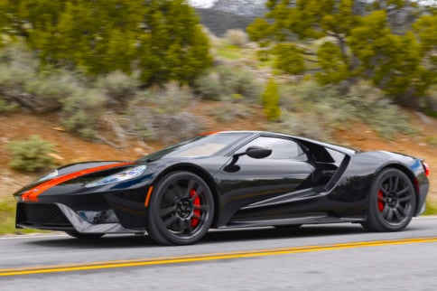 Driving A 647HP Ford GT On Woodward Avenue Is A Real Dream Cruise
