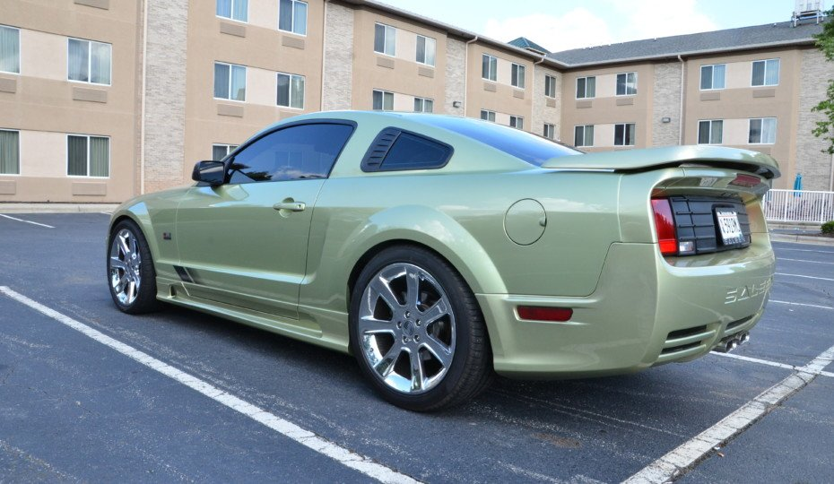 Saleen Stunting: Driving A Borrowed Saleen To The Saleen Nationals