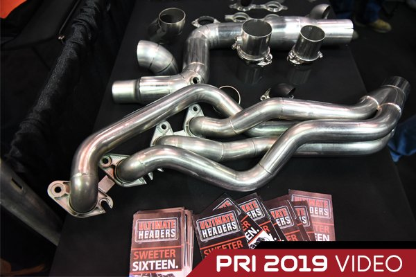 PRI 2019: Ultimate Headers' 2015-20 Mustang GT, Coyote Swap Headers