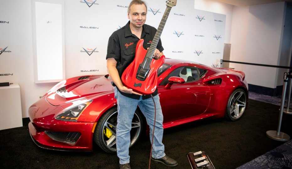Fender Custom Shop Supercharges A Stratocaster Guitar With Saleen