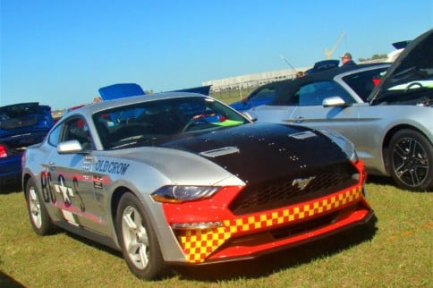 Mustangs by the Hundreds Gallop to Carlisle's Winter Auto Fest