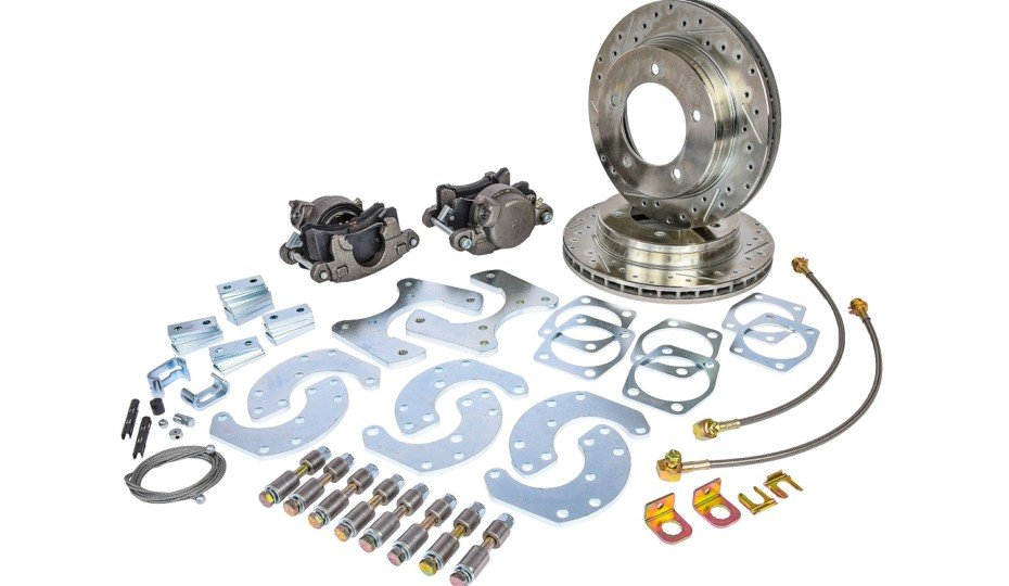 "JEGS Releases Ford 9"" Truck Rear Disc Brake Conversion Kit"