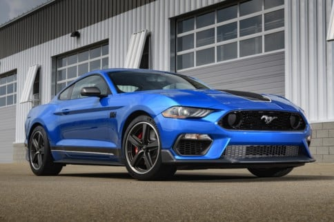 Sonic Boom! The 2021 Mach 1 Packs Bullitt Power & Shelby Handling