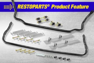 SEMA 2020: OPGI Features Restoparts' Brand Sway Bars For Stability