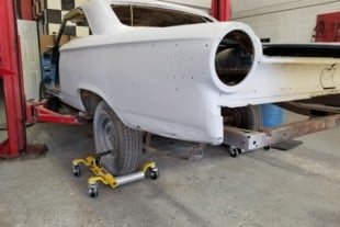 Restoring the Dockery Ford Galaxie with Auto Metal Direct