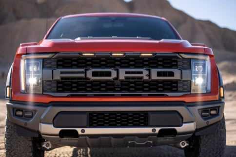 Ford Reveals Refreshed F-150 Raptor Pickup & Teases R-Model For 2022