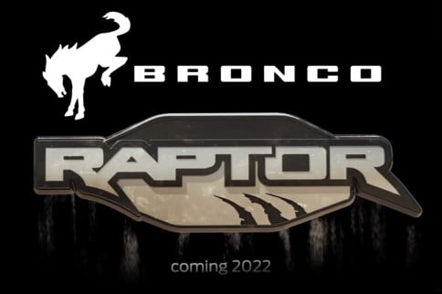 Ford Just Announced Bronco Raptor Variant