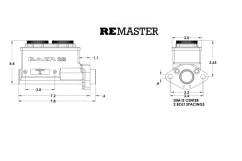 Video: Another Look At Baer's Remaster Master Brake Cylinder