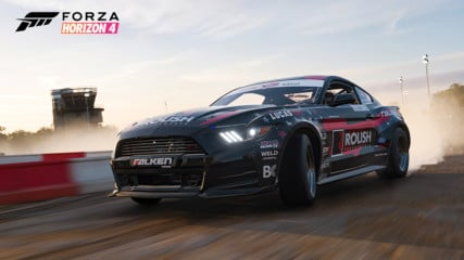 Virtually Drift Justin Pawlak's 1,000HP ROUSH With Forza Upgrade