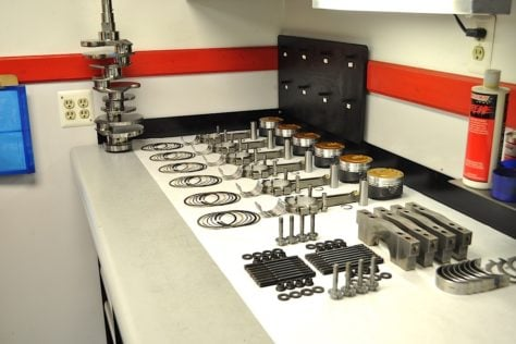 Shortblock Components Prepped for Assembly (7)