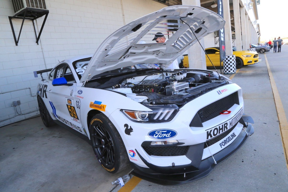 A detailed look at the kohr motorsports mustang gt4 road racer