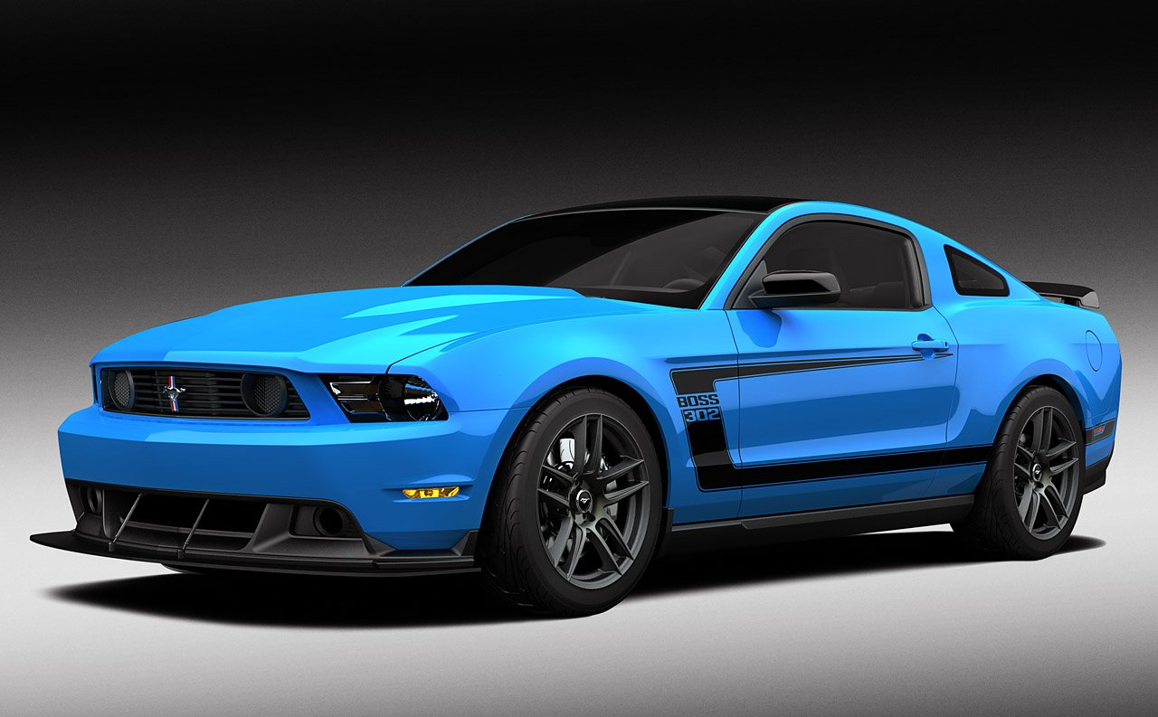 Ford Mustang Boss 302 Blue